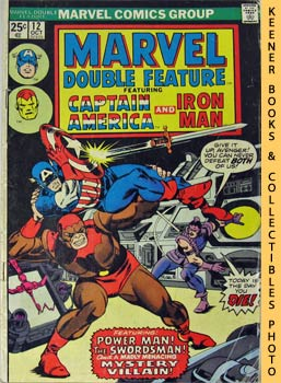 Image for Marvel Double Feature - Captain America And Iron Man: Vol. 1, No. 12, October, 1975