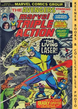 Image for Marvel Triple Action: The Living Laser! -- No. 26, November 1975