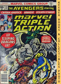 Image for Marvel Triple Action: Let Sleeping Dragons Lie! -- No. 33, January 1977