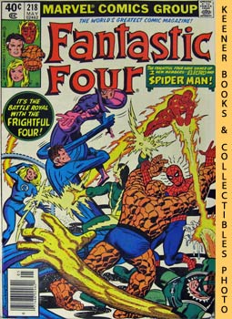 Image for Marvel Fantastic Four: When A Spider - Man Comes Calling! -- No. 218, May 1980