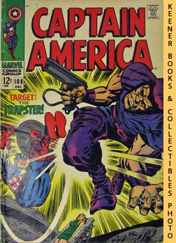 Image for Marvel Captain America: The Snares Of The Trapster! -- Vol. 1 No. 108, December 1968