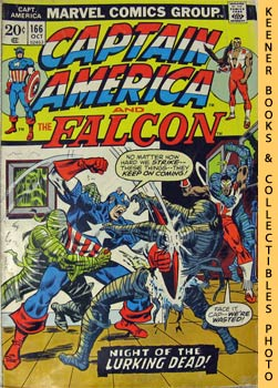 Image for Marvel Captain America And The Falcon: Night Of The Lurking Dead! -- Vol. 1 No. 166, October 1973
