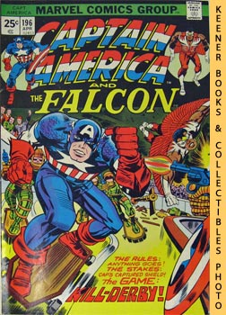 Image for Marvel Captain America And The Falcon: Kill - Derby - Pow! -- Vol. 1 No. 196, April 1976
