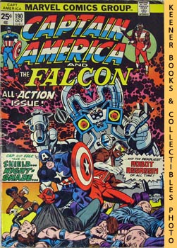 Image for Marvel Captain America And The Falcon: Nightshade Is Deadlier The Second Time Around! -- Vol. 1 No. 190, October 1975