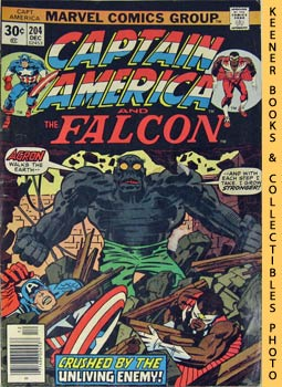 Image for Marvel Captain America And The Falcon: The Unburied One! -- Vol. 1 No. 204, December 1976