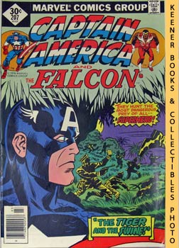 Image for Marvel Captain America And The Falcon: The Tiger And The Swine!! -- Vol. 1 No. 207, March 1977