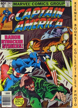 Image for Marvel Captain America: By The Dawn's Early Light! -- Vol. 1 No. 247, July 1980