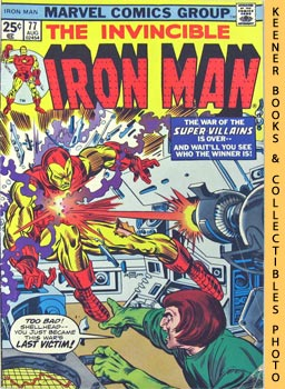 Image for The Invincible Iron Man: I Cry: Revenge! -- Vol. 1 No. 77, August 1975