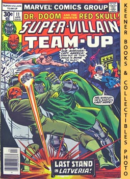Image for Super-Villain Team-Up: Chapter 3: My Ally, My Enemy! -- Vol. 1 No. 11, April 1977