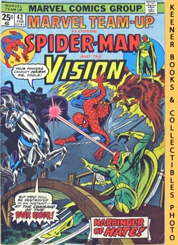 Image for Marvel Team-Up Featuring Spider - Man And The Vision: Visions Of Hate! -- Vol. 1 No. 42, February 1976