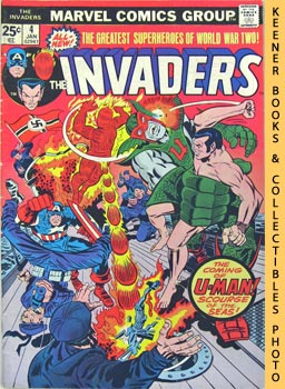 Image for The Invaders: U - Man Must Be Stopped! -- Vol. 1 No. 4, January 1976