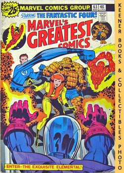 Image for Marvel's Greatest Comics Starring The Fantastic Four: Enter - - The Exquisite Elemental! -- Vol. 1 No. 63, May 1976