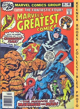 Image for Marvel's Greatest Comics Starring The Fantastic Four: The Mark Of -- The Madman! -- Vol. 1 No. 64, July 1976