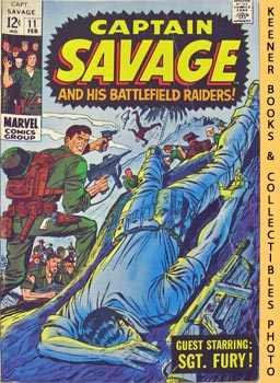 Image for Captain Savage and His Battlefield Raiders!: Death Of A Leatherneck! -- Vol. 1 No. 11, February 1969