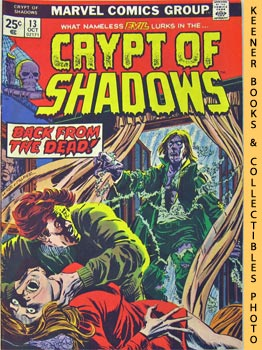 Image for Crypt Of Shadows: The Ghost Comes Back! -- Vol. 1 No. 13, October 1974