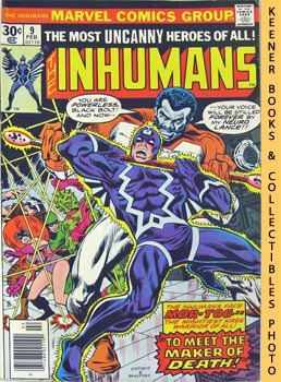 Image for The Inhumans: To Meet The Maker Of Death! -- Vol. 1 No. 9, February 1977