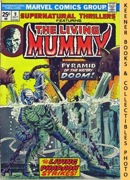 Image for Supernatural Thrillers Featuring The Living Mummy: Pyramid Of Peril! -- Vol. 1 No. 9, October 1974