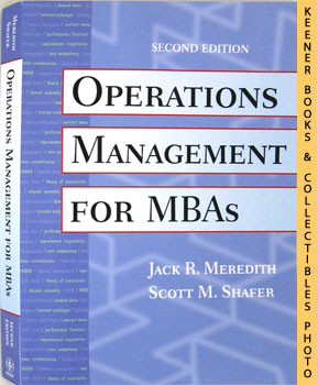 Image for Operations Management For MBAs (Second - 2nd - Edition)