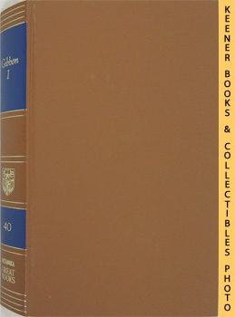 Image for Gibbon I (The Decline And Fall Of The Roman Empire, Volume I): Great Books Of The Western World Collection Series