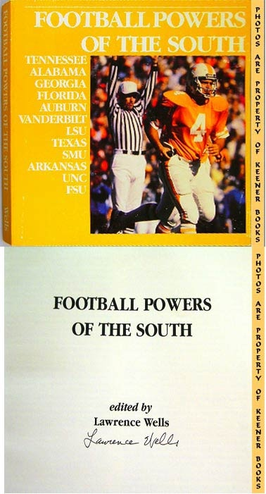 Image for Football Powers Of The South: University Of Tennessee Volunteers