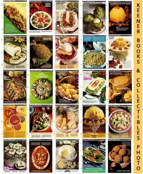 Image for McCall's Recipe Cards Choice of 50 - Your Choice Of Any Fifty Cooking School Cookbook Recipes (Replacement Recipages / Recipe Cards For 3-Ring Binders)