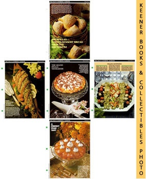 Image for McCall's Recipe Cards Choice of 5 - Your Choice Of Any Five Cooking School Cookbook Recipes (Replacement Recipages / Recipe Cards For 3-Ring Binders)