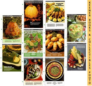 Image for McCall's Recipe Cards Choice of 25 - Your Choice Of Any Twenty-Five Cooking School Cookbook Recipes (Replacement Recipages / Recipe Cards For 3-Ring Binders)