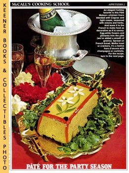 Image for McCall's Cooking School Recipe Card: Appetizers 2 - Pate Maison (Replacement McCall's Recipage or Recipe Card For 3-Ring Binders): McCall's Cooking School Cookbook Series