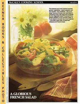 Image for McCall's Cooking School Recipe Card: Salads 9 - Vegetable Salad Provencal (Replacement McCall's Recipage or Recipe Card For 3-Ring Binders): McCall's Cooking School Cookbook Series