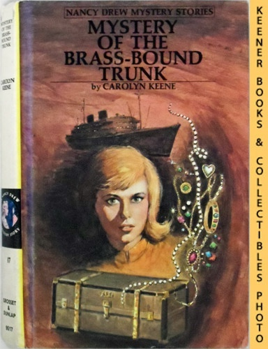 Image for Mystery Of The Brass-Bound Trunk: Nancy Drew Mystery Stories Series