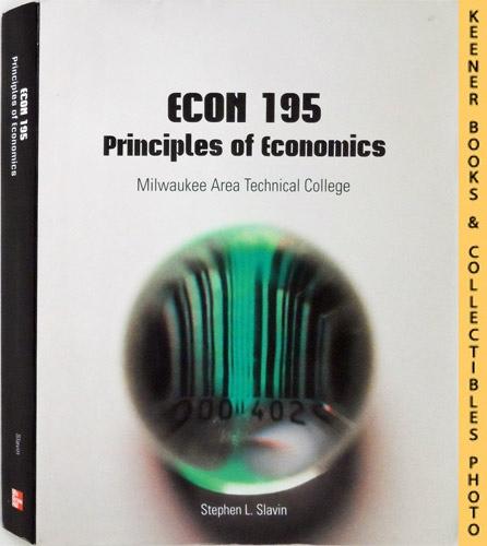 Image for ECON 195 - Milwaukee Area Technical College [MATC] - Principles of Economics  : 10th Edition