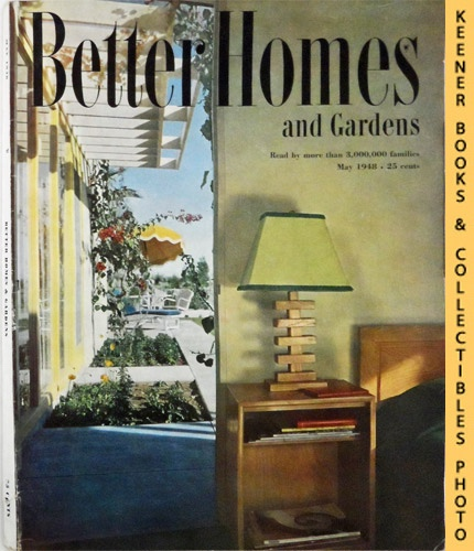 Image for Better Homes And Gardens Magazine (May 1948, Vol. 26 Number 9 Issue)