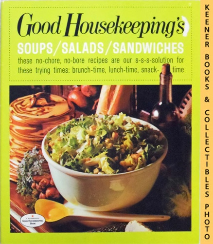 Image for Good Housekeeping's Soups / Salads / Sandwiches, Vol. 7: Good Housekeeping's Fabulous 15 Cookbooks Series