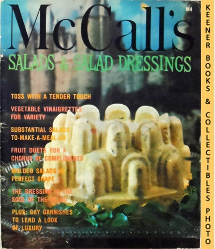 Image for McCall's Salads & Salad Dressings, M4: McCall's Cookbook Collection Series