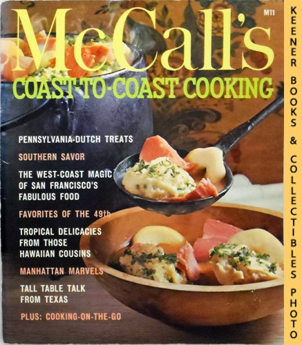 Image for McCall's Coast-To-Coast Cooking, M11: McCall's Cookbook Collection Series