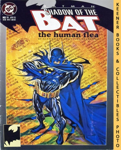 Image for Batman, Shadow of the Bat - The Human Flea: #11 April 1993 Issue