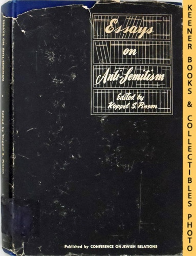 Image for Essays on Antisemitism: Jewish Social Studies Publications Series