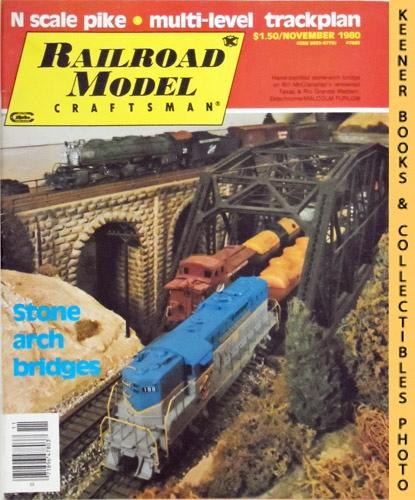 Image for Railroad Model Craftsman Magazine, November 1980 (Vol. 49, No. 6)
