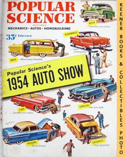 Image for Popular Science Monthly Magazine, February 1954 (Vol. 164, No. 2) : Mechanics - Autos - Homebuilding
