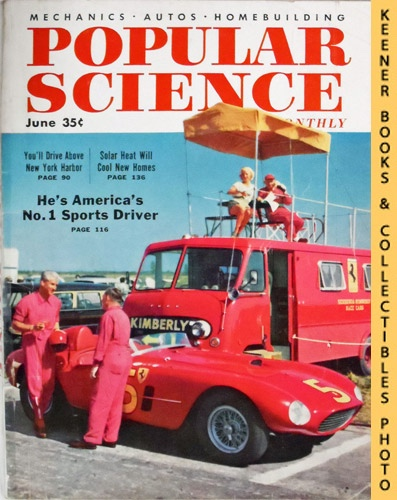 Image for Popular Science Monthly Magazine, June 1955 (Vol. 166, No. 6) : Mechanics - Autos - Homebuilding