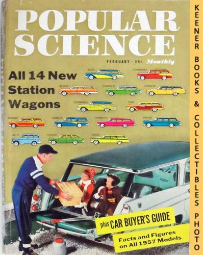Image for Popular Science Monthly Magazine, February 1957 (Vol. 170, No. 2) : Mechanics - Autos - Homebuilding