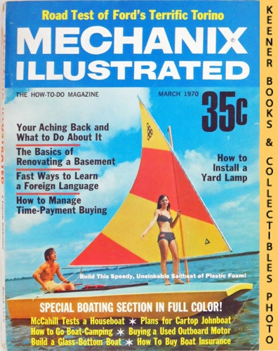 Image for Mechanix Illustrated Magazine, March 1970 (Vol. 66, No. 502)