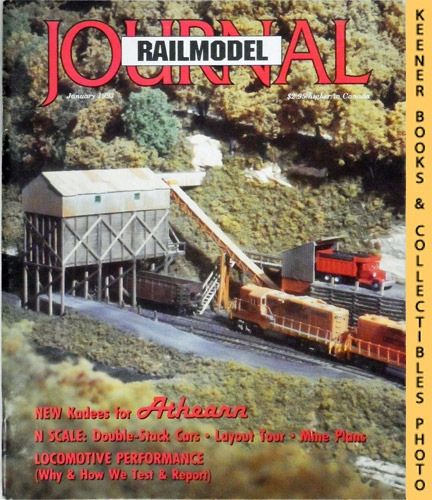 Image for Railmodel Journal Magazine, January 1993 (Vol. 4, No. 8)