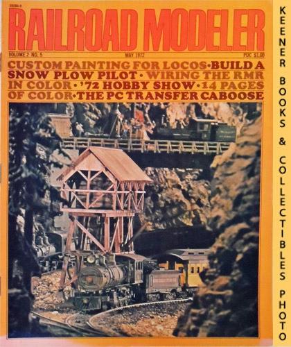 Image for Railroad Modeler Magazine, May 1972 (Vol. 2, No. 5)