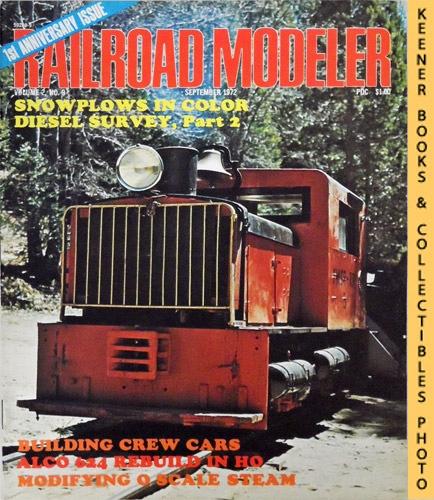 Image for Railroad Modeler Magazine, September 1972 (Vol. 2, No. 9)