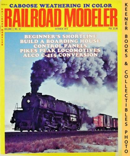 Image for Railroad Modeler Magazine, October 1972 (Vol. 2, No. 10)