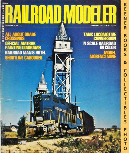 Image for Railroad Modeler Magazine, January 1973 (Vol. 3, No. 1)