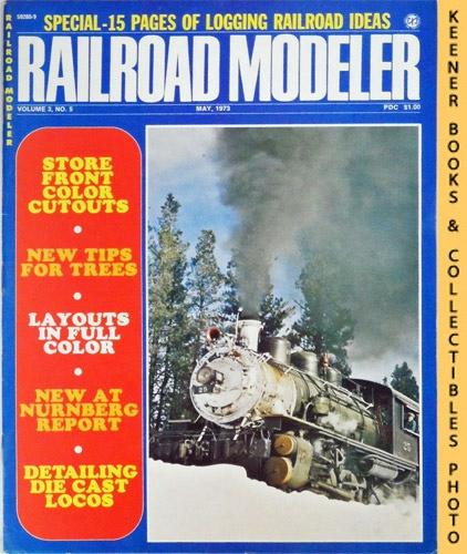 Image for Railroad Modeler Magazine, May 1973 (Vol. 3, No. 5)