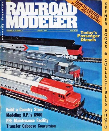 Image for Railroad Modeler Magazine, August 1975 (Vol. 5, No. 8)