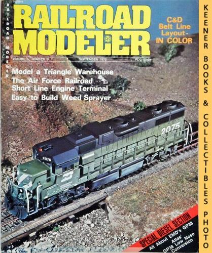 Image for Railroad Modeler Magazine, September 1975 (Vol. 5, No. 9)